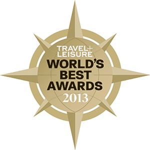 Travel+Leisure World's Best Awards logo