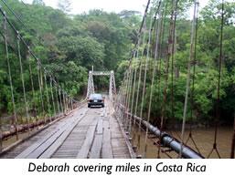Trekking Across Costa Rica
