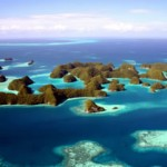Palau sea kayaking and snorkeling