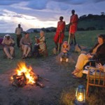 """Sundowner"" cocktails in the bush are a time-held safari tradition."