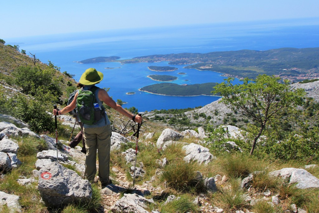 Hikes along the coast of Dalmatia offer postcard-worthy views.