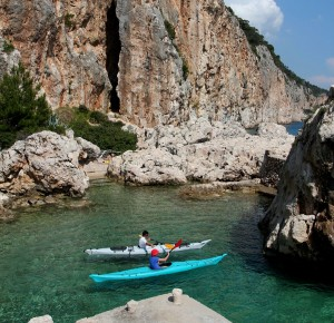Kayaking in Croatia