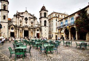 Cuba courtyard
