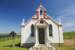 The Italian Chapel - built by Italian POW's during WW2, Lamb Holm, Orkney
