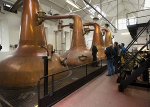 A guided tour of  the Highland Park Distillery, Kirkwall, Mainland, Orkney.