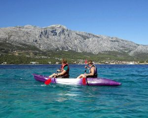 Croatia kayaking
