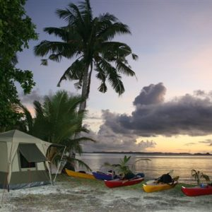 Full Service Island Camps, Rock Islands