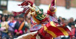 Bhutan festive colors